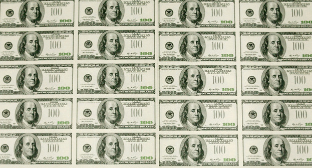 Printable Monopoly Money Sheet Images - - sheets of $100